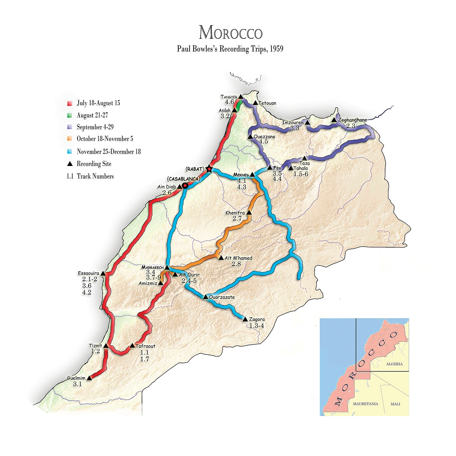 Music of Marocco 3