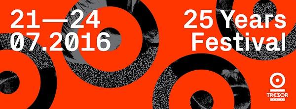 Tresor 25 Years Festival Banner 1
